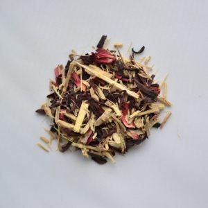 Ginseng and Hibiscus Tisane