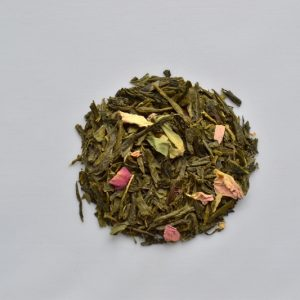Japanese Cherry with Rose Petals tea